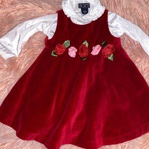 Childrens place Christmas dress - 12m